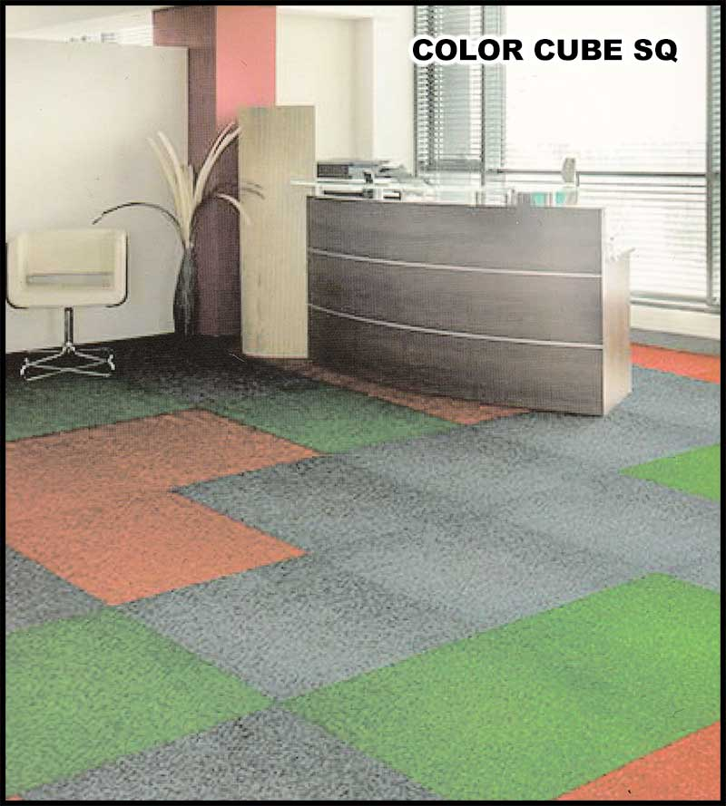 Karpet Color Cube SQ